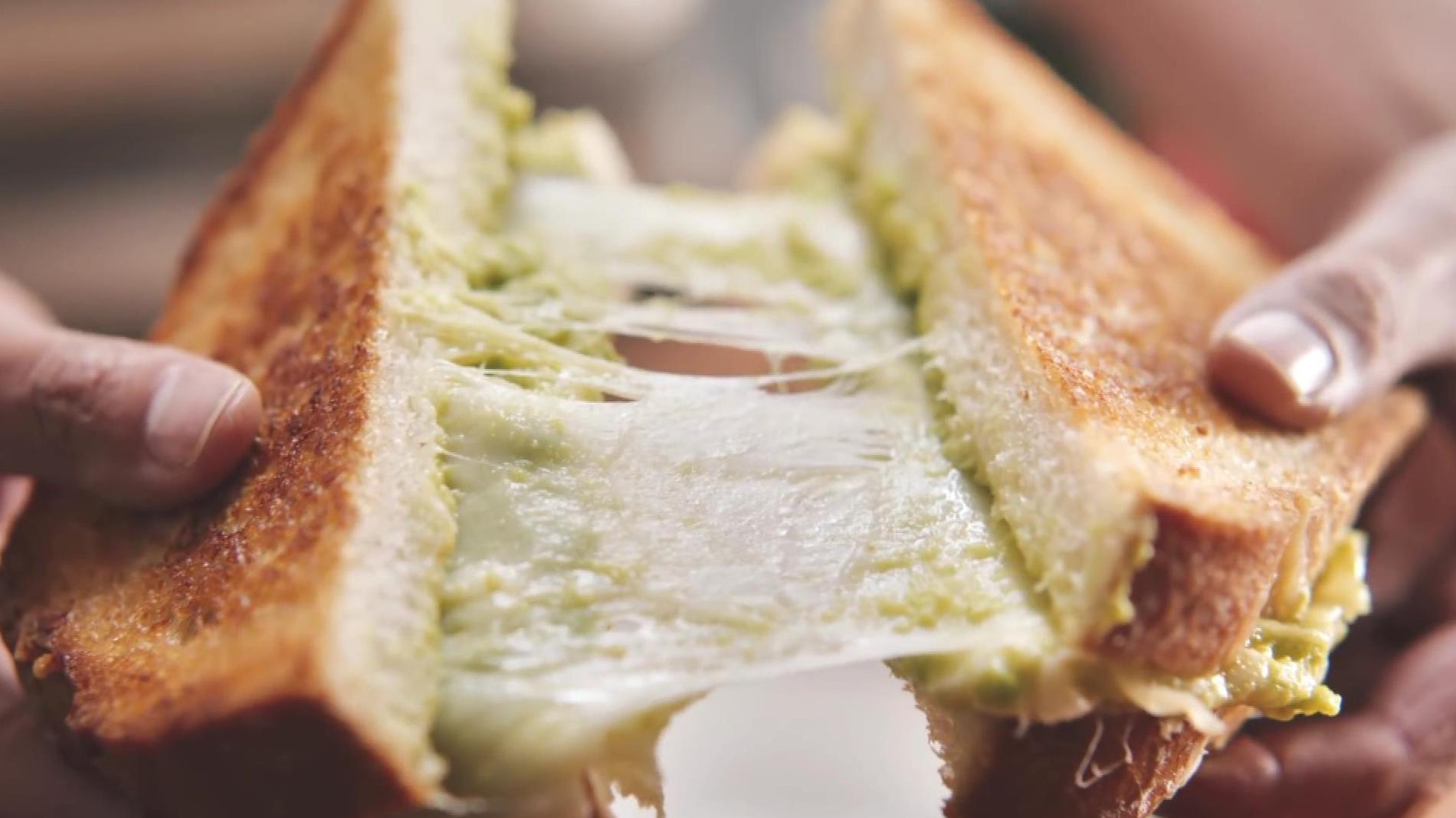 The art of the grilled cheese sandwich.