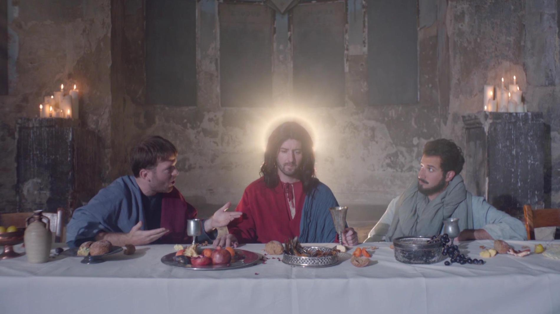 The last working supper.