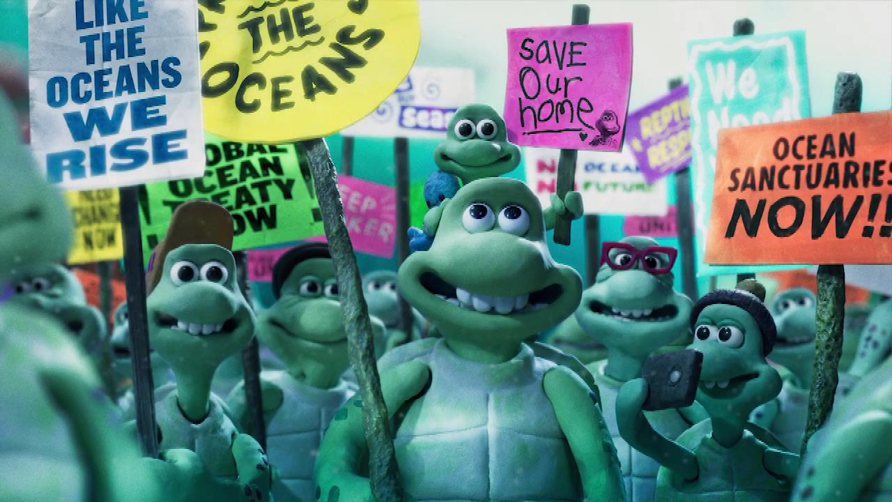 Greenpeace Turtle Journey