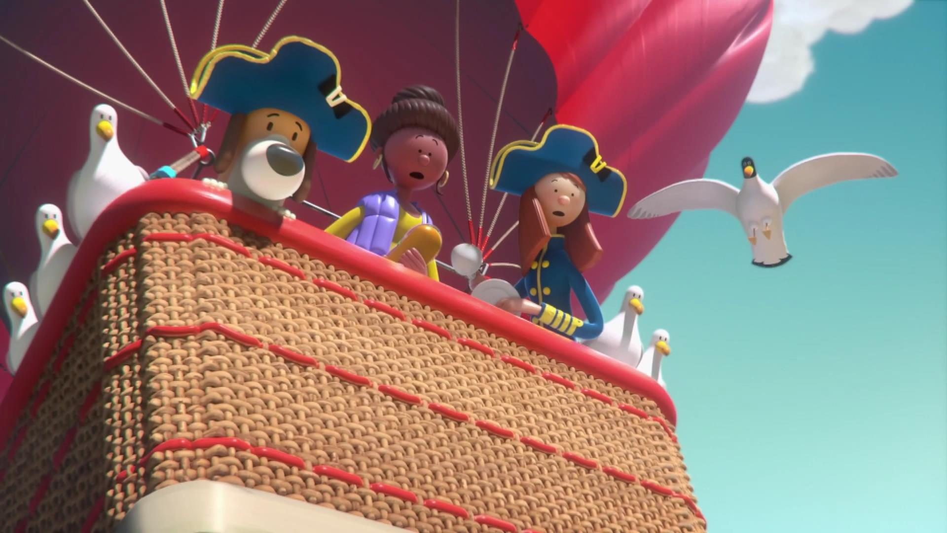 Admiral Insurance Hot Air Balloon
